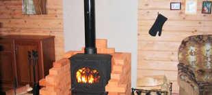 Стальные и чугунные печи буржуйки для дачи и садовых домиков на дровах