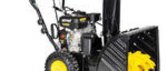 Электрические и бензиновые снегоуборщики