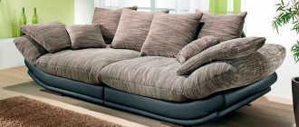 Современные модели диванов: фото топ-10