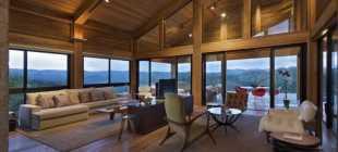 Частный дом с красивым видом из окон