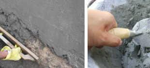 Штукатурка стен цементным раствором по маякам своими руками, протравка нейтрализующим раствором (видео)
