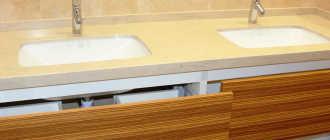 Эксклюзивная мебель на заказ в ванную