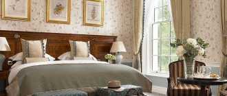 Современный дизайн спальни 16 м кв: красивый интерьер комнат в английском стиле