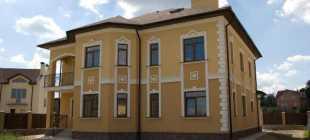 Штукатурка фасада: основные этапы отделочных работ и особенности современных материалов (90 фото)
