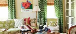 Яркие шторы: 75 фото примеров оформления и правильного сочетания ярких цветов
