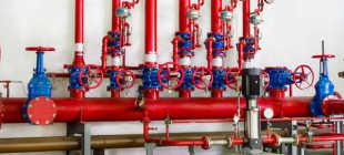 Установка систем пожаротушения и сигнализации. Автоматическая система пожаротушения — виды, применения систем