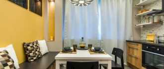 Стильно и современно обустраиваем кухню 11 кв. м