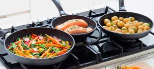 Экологически чистая сковорода с каменным покрытием: свойства, фото, цены