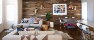 Современная отделка стен деревом идеревянными панелями— 30 фото винтерьере